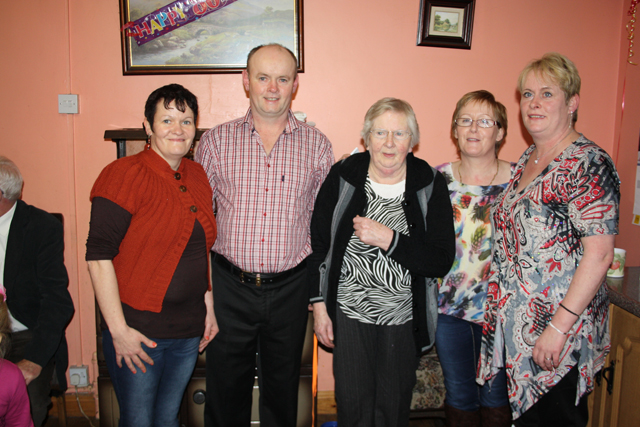 80th Birthday Celebrations in Kingscourt