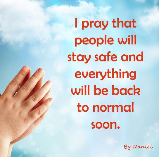 Prayer by Daniel