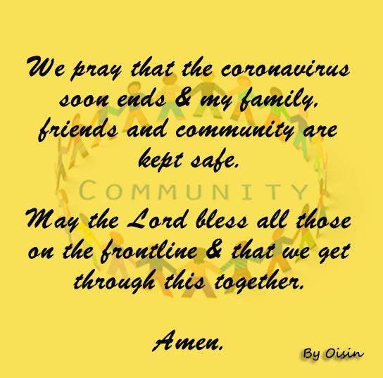 Prayer by Oisin