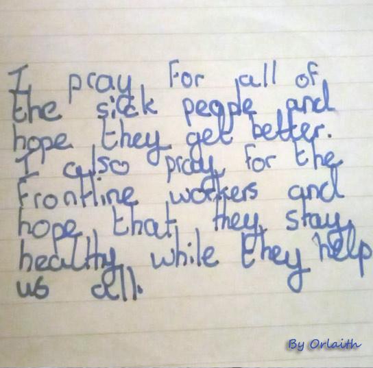 Prayer by Orlaith