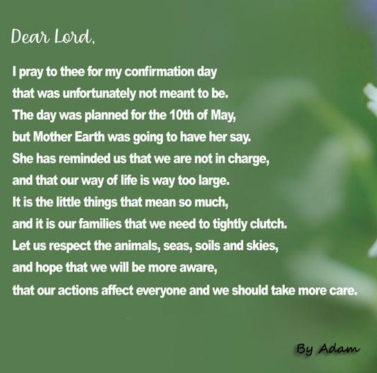 Prayer by Adam