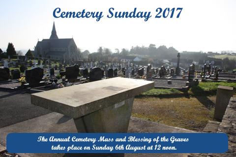 Cemetery Sunday Kingscourt 2017