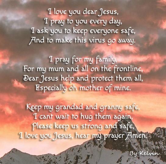 Prayer by Kelvin