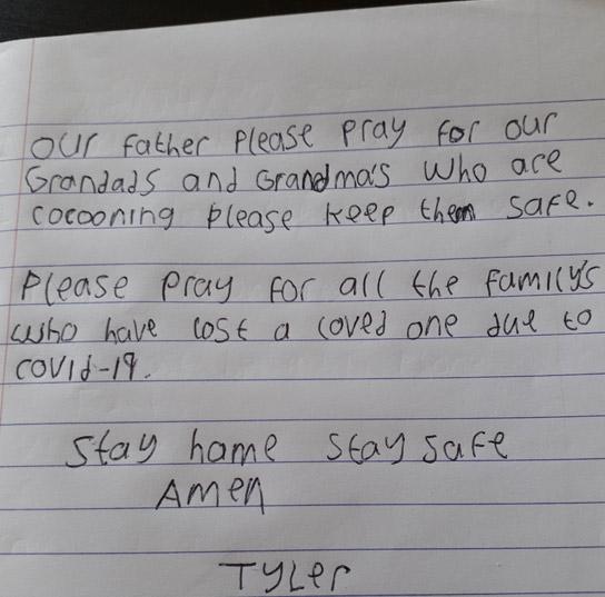 Prayer by Tyler