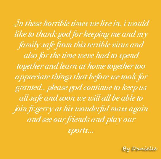 Prayer by Danielle